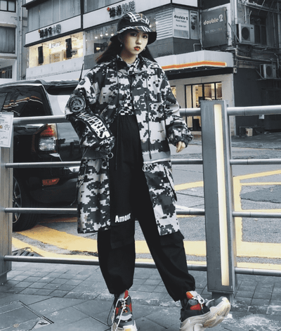 Combust Long Coat