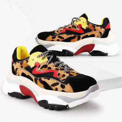 Lacie Leopard Sneakers