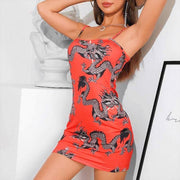 Another Lover Dragon Mini Dress