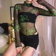 Muffy Mesh Dragon Bodysuit