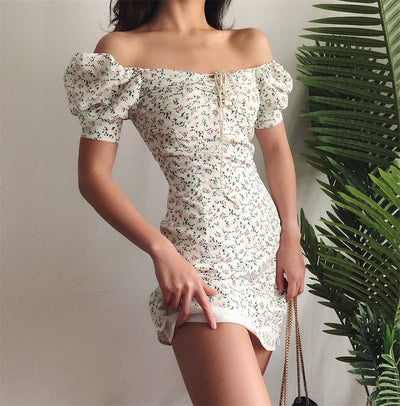 Jullietta Floral Mini Dress