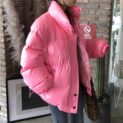 Boomie Pink Padded Coat