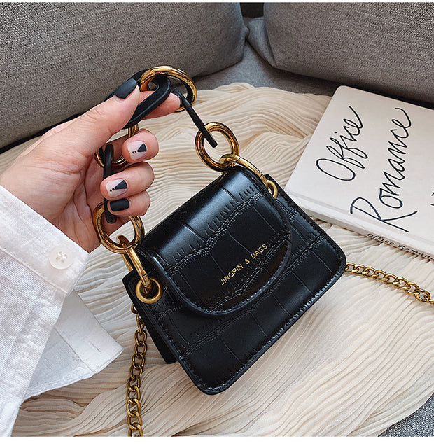 Thousand Kisses Black Mini Saddle Bags