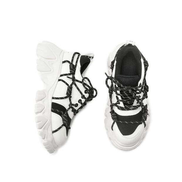 Prisha Lace Up Sneakers