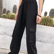 Anina High Waist Cargo Pants