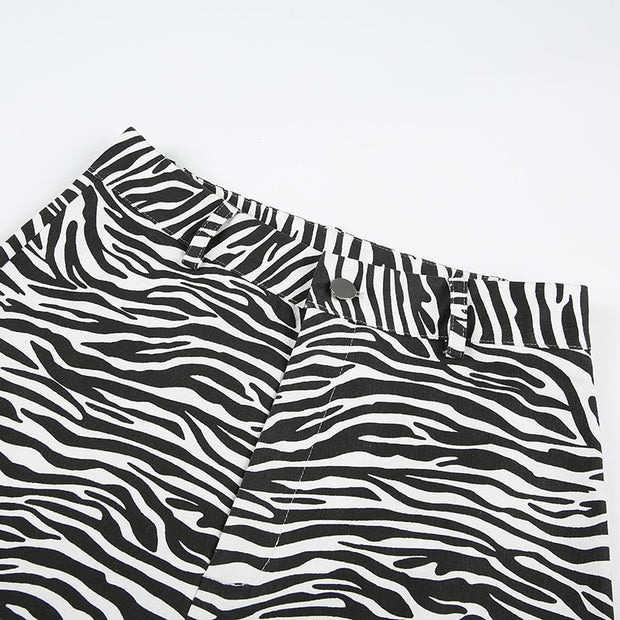 So Close Zebra Pants