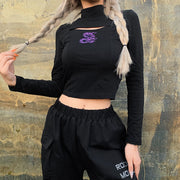 Polly Dragon Crop Top