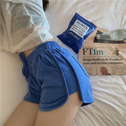 Grimes Blue Casual Shorts