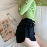 Grimes Black Casual Shorts