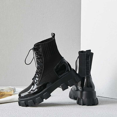 Joanna Lace Up Boots