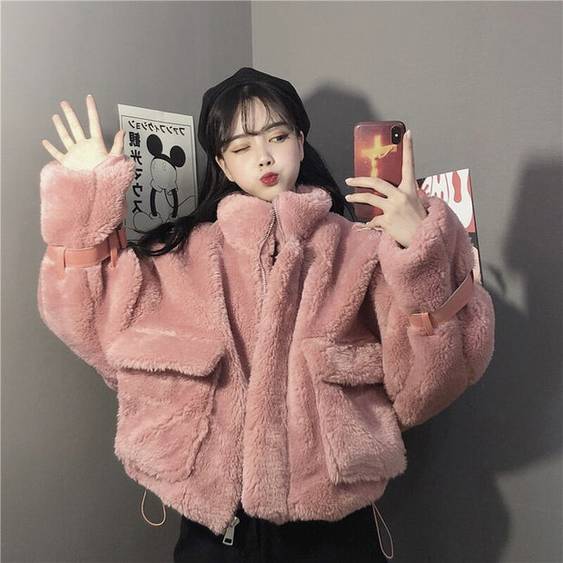 Azaled Faux Fur Jacket