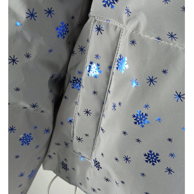 Mabel Snowflake Sequin Padded Jacket