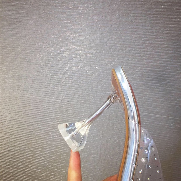 Enigma Lady Clear Heels