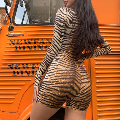 Summer Madness Tiger Playsuit