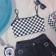 Itsy Checkered Tank Top