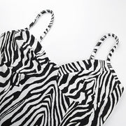 No Ordinary Gurl Zebra Mini Dress