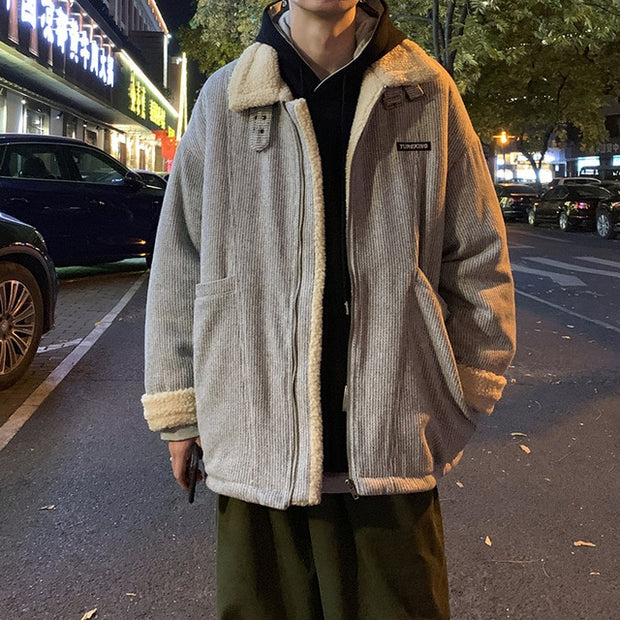Wool Classic Thick Vintage Oversized Jacket