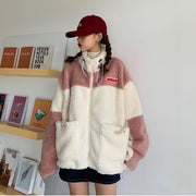 Lambswool Patchwork Jacket