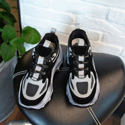 FUJIN, Platform PU Leather 90's Sneaker