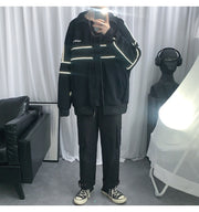 Reflective Article Patchwork Bomber Jacket