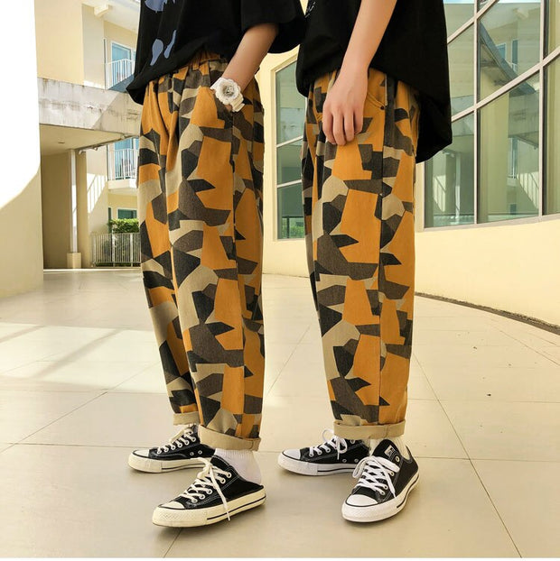 Camouflage Baggy Casual Pants