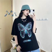 Oversized Butterfly Top