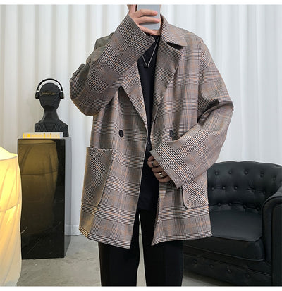 Vintage Plaid 90's Blazer
