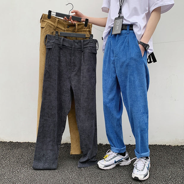 Corduroy Tappered Pants