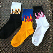 Cora Flame Socks
