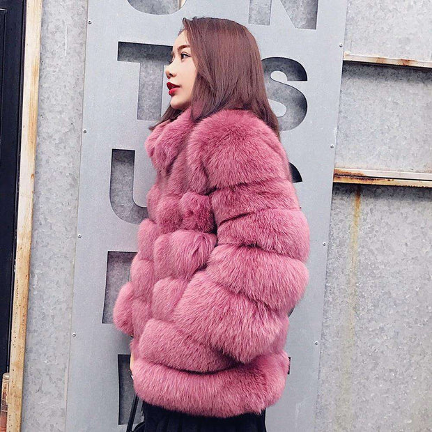 ZADORIN Faux Fur Jacket