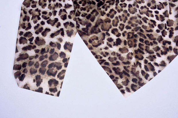 CHAPEL Leopard Mini Dress
