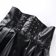 Alice PU Leather Skirt