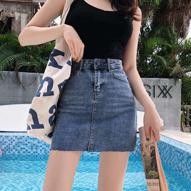 Crave You Denim Mini Skirt