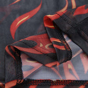 BAMBAM Mesh Flame Top