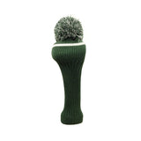 Pom Pom Golf Club Driver Head Cover Green