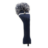 Pom Pom Golf Club Hybrid Fairway Wood Head Cover Blue