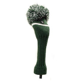Pom Pom Golf Club Hybrid Fairway Wood Head Cover Green