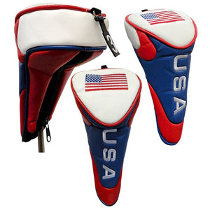 USA Flag Patriotic Golf Club Head Cover