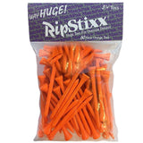 "Pride Golf Tee 3 1/4"" 60 Count Way Huge RIPSTIXX - Various Colors"