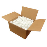 White Perforated Practice Golf Balls
