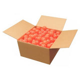 Orange Perforated Practice Golf Balls