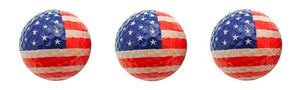 usa patriotic golf ball