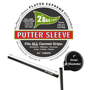 Player Supreme Individual Putter Golf Tube Divider