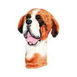 St Bernard Dog Animal Golf Club Head Cover
