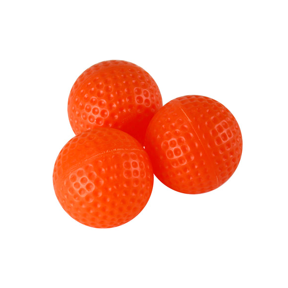 Pro Practice Golf Balls 12-pack (Orange Hollow Style)