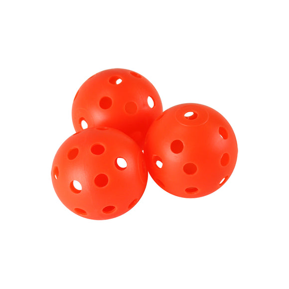 Orange Perforated Practice Golf Balls (12 count)