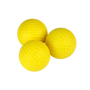 Yellow Foam Practice Golf Balls (12 count)