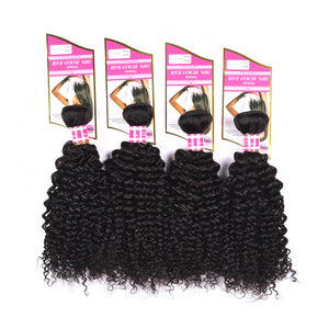 8A Remy Hair Natural Black Curly