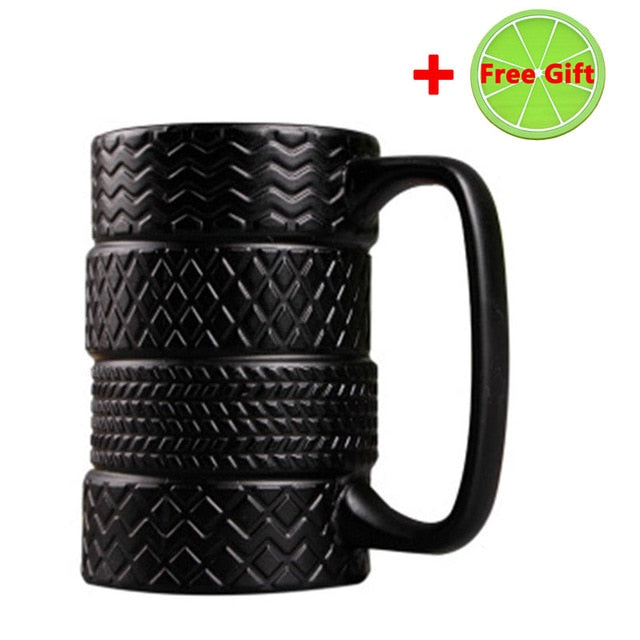Mugs: Tire Coffee Mug