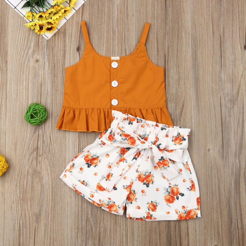 Baby Girl: Toddler Summer Outfit
